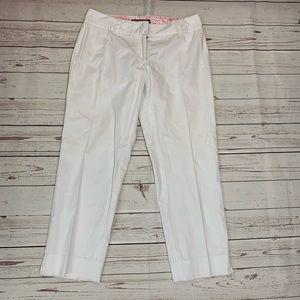 Vineyard Vines white Capri cropped pants size 6